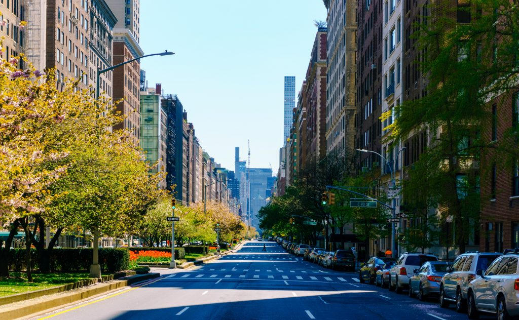 Post-war apartments on Park Avenue